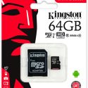 Memoria Micro SD Kingston Clase 10