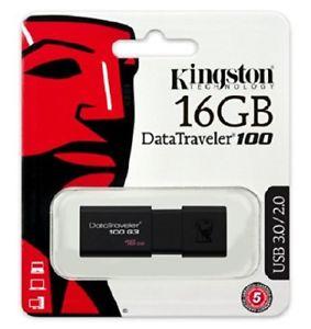 Memoria USB Kingston dt100