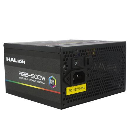 FUENTE DE PODER HALION RGB-500 W
