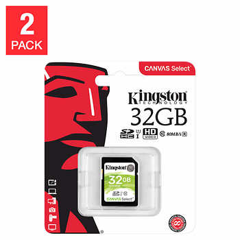 Memoria SD kingston 32gb