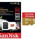 Memoria Micro SD Sandisk Extreme