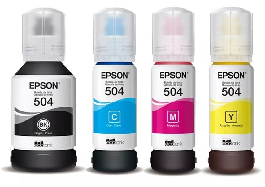 Tinta Epson 504