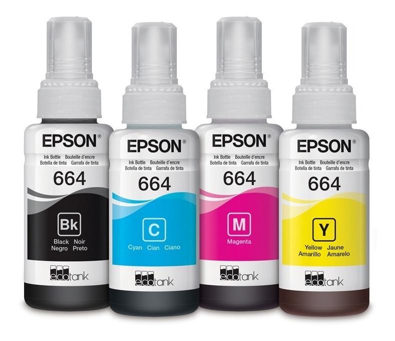 tintas repuesto epson 664