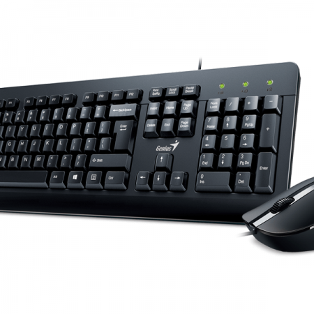Kit teclado y mouse Genius KM-160