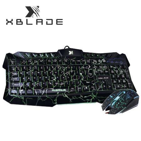 Kit teclado mouse Avernus GXB-KM410L XBlade