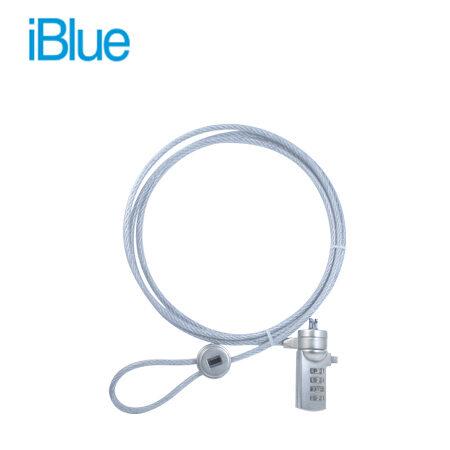 Cable de seguridad laptop Iblue L-03-SL