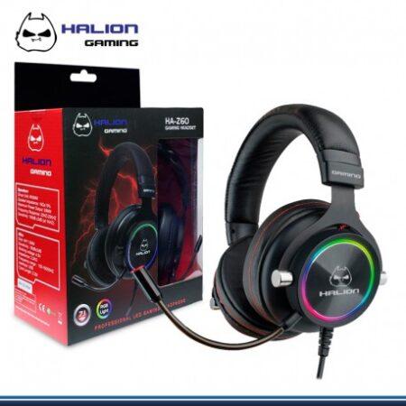 audifono halion gaming ha-z60