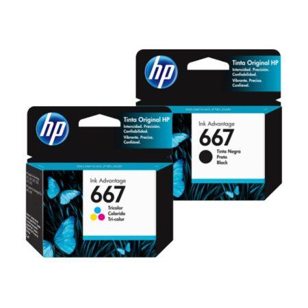 Cartucho HP 667