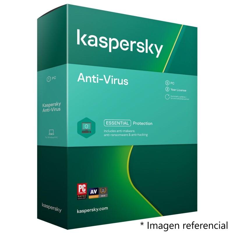 antivirus kaspersky esencial 2021