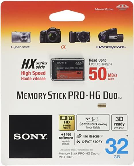 Memory Stick Sony PRO HG DUO HX