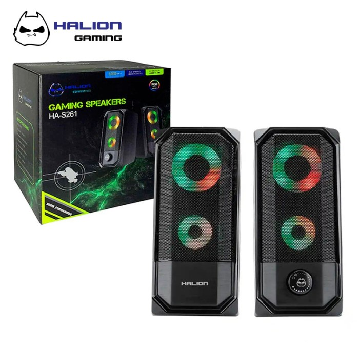 Parlante Halion HA-S261 Gaming
